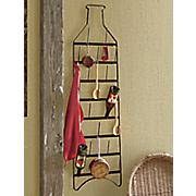 wall bottle rack