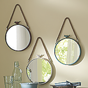 set of 3 bird mirrors