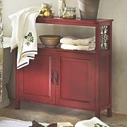 Rustic Towel Cabinet