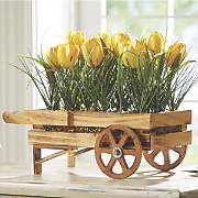 tulip flower cart