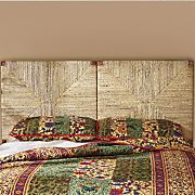 banana leaf headboard
