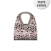 animal print bag by steve harvey
