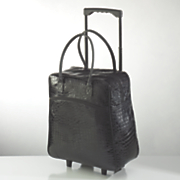 foldable rolling tote bag