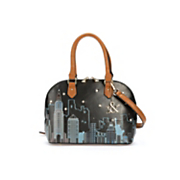 new york dome satchel by hue   ash