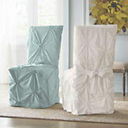 Floral Tufted Chair Cover