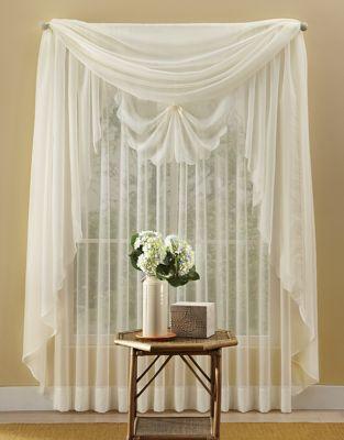 Emelia Sheer Voile Window Treatments