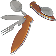 2 pack foldable parrot cutlery