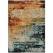 watercolor vista rug