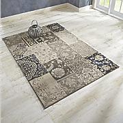bohemian squares rug