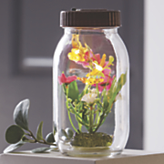 glass solar jar