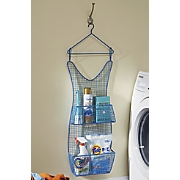 blue dress wall storage