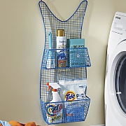 blue dress wall storage