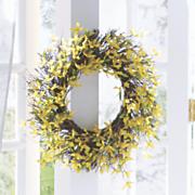 forsythia wreath 63