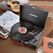 Briefcase-Style Turntable by Sylvania