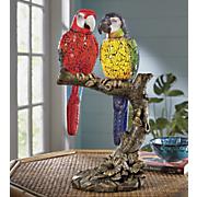 parrots in love lamp