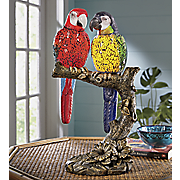 parrots in love lamp