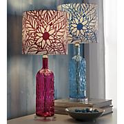 zahra glass table lamp