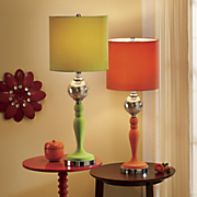 trinity velvet table lamp