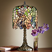 delilah stained glass table lamp