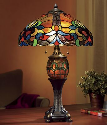 Astoria Double-Lighted Lamp