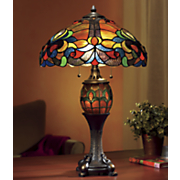 astoria double lighted lamp
