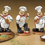 3 figuras de chef de utensilio de pc