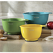 3 pc  assorted mixing bowl set by kitchenaid