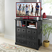 swivel top media center