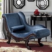 velvet drama queen chaise