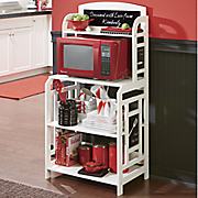 Personalized Utensil/Microwave Stand