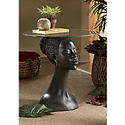 African Woman Table