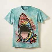 shark tee by dean russo