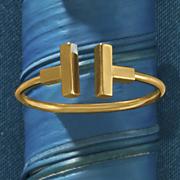 14k t bar ring