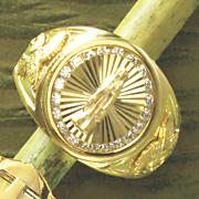 men s guadalupe cubic zirconia ring