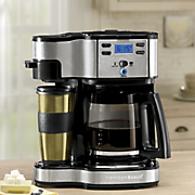 Two-Way Brew Coffeemaker by Hamilton Beach