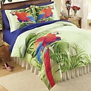 macaw comforter set