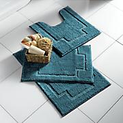 3 pc  serene bath mat set