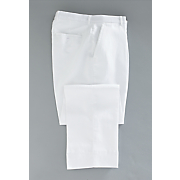 Men's White Summer Pant