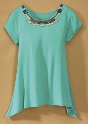 Beaded Las Cruces Tee