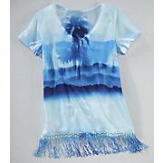 blue hawaii tee