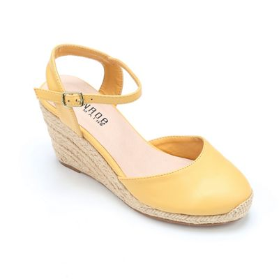 Tamsin Closed Toe Wedge by Monroe & Main