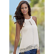 crochet trim top 74