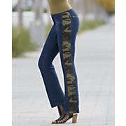 Camo Stripe Ankle Jean