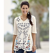Aria Embroidered Top