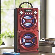 portable bluetooth speaker by sylvania