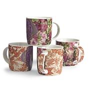 Set of 4 Patina Mugs