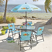 6 pc  margaritaville patio set