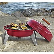 electric   charcoal lock  n go grill