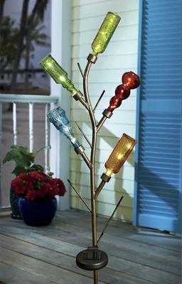 Solar Mini Bottle Tree