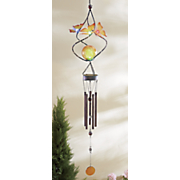 solar butterfly wind chime